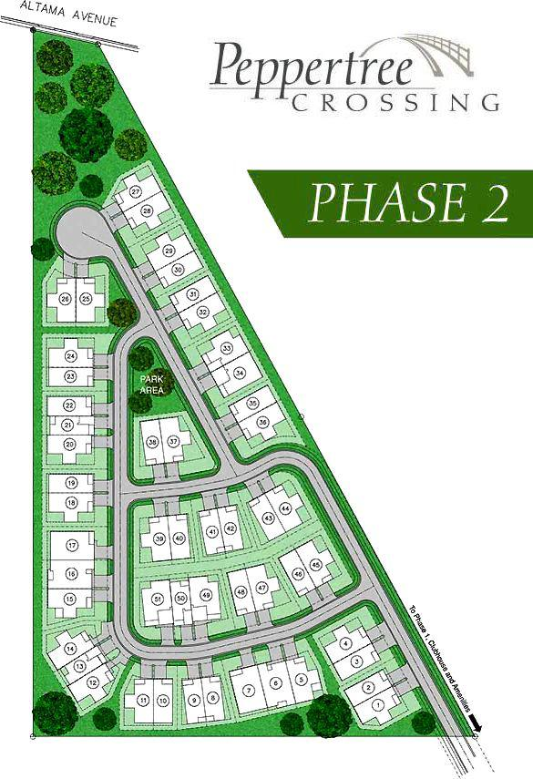 Peppertree Crossing, a gated active retirement 55+ community in Brunswick  and the Golden Isles